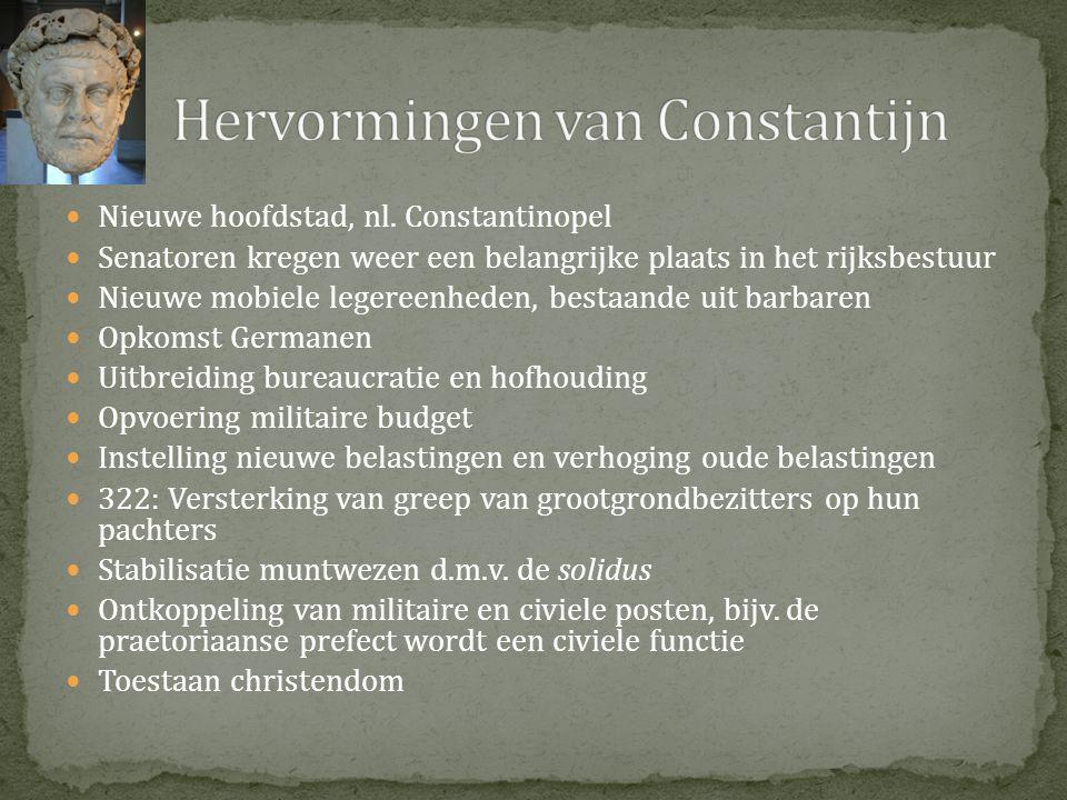 Hervormingen van Constantijn