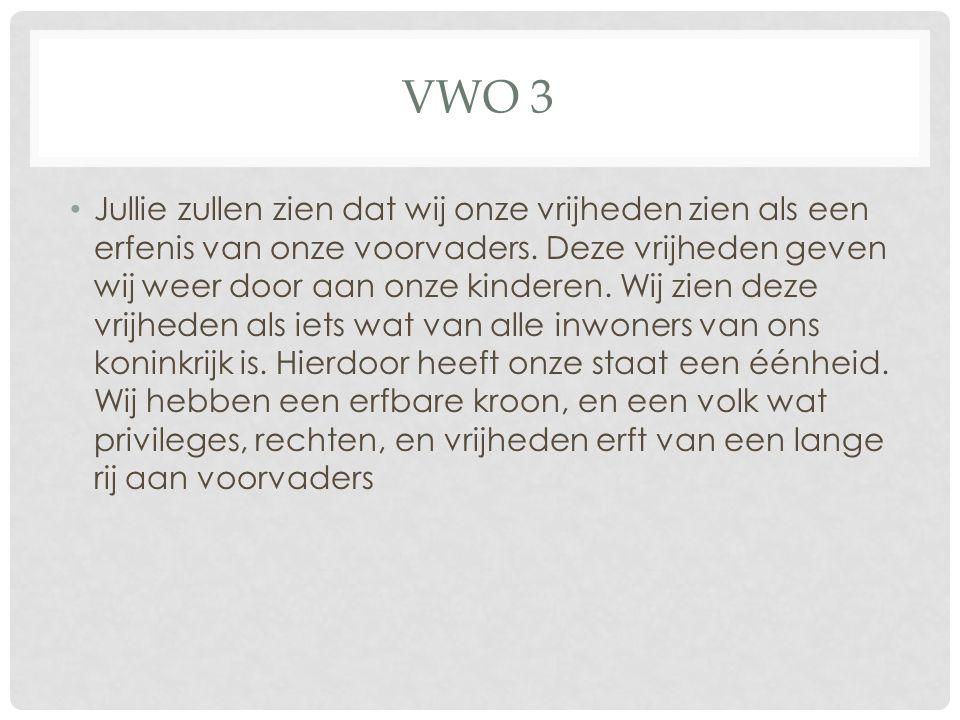 Vwo 3