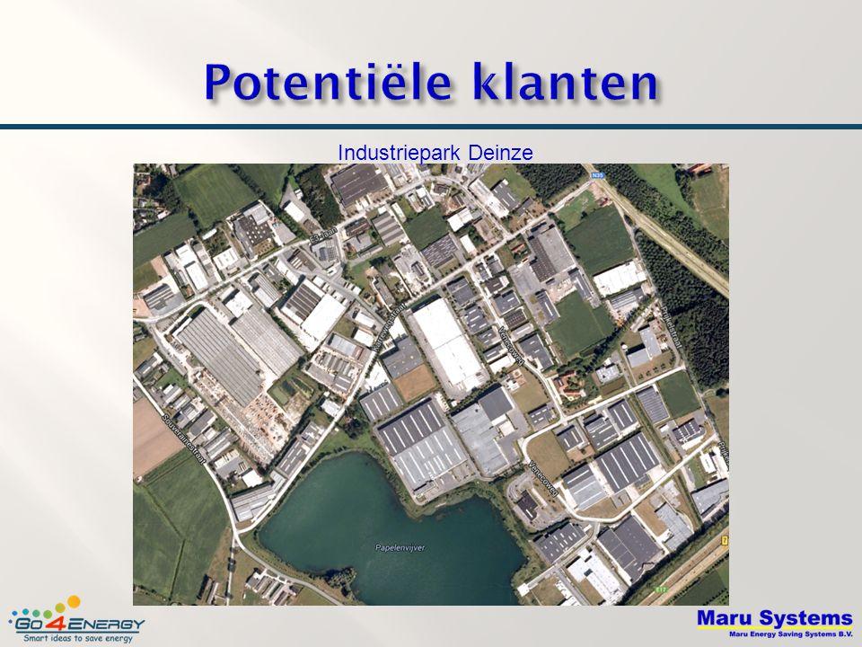 Potentiële klanten Industriepark Deinze