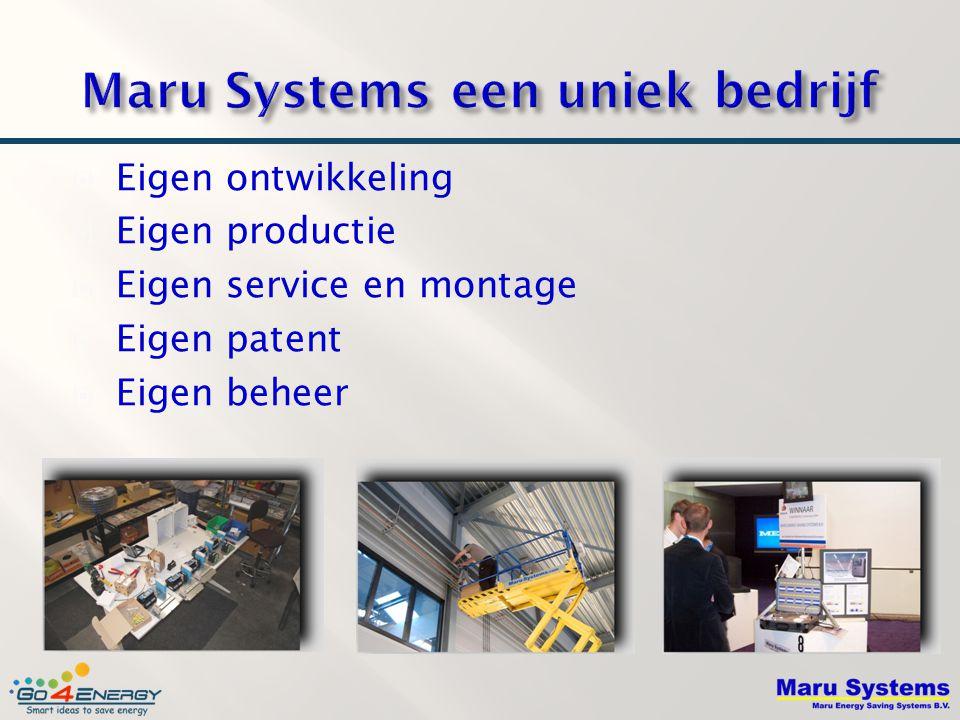 Maru Systems een uniek bedrijf