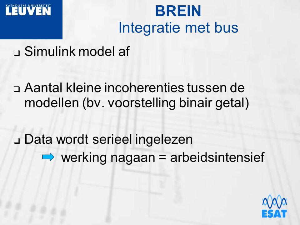 BREIN Integratie met bus
