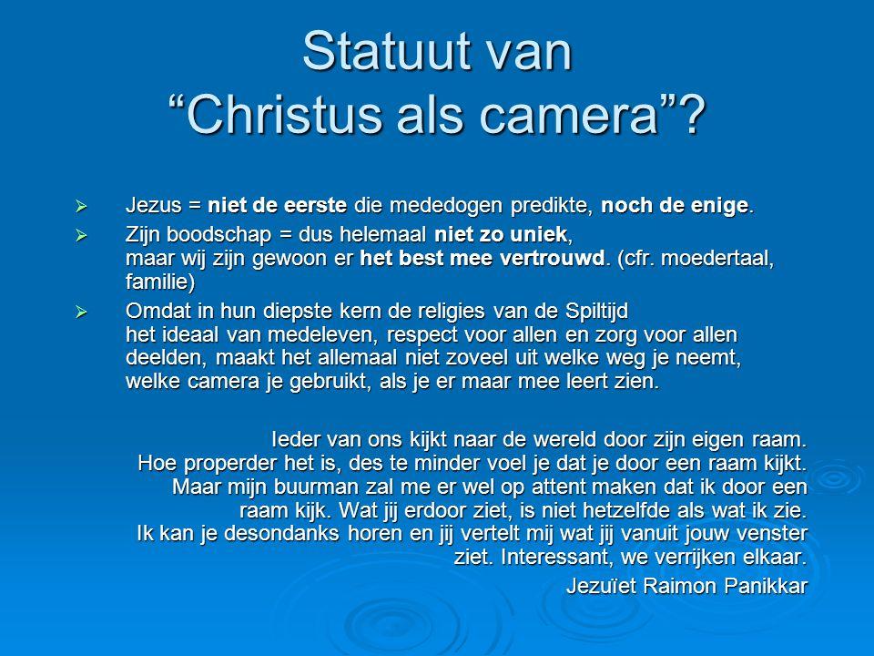 Statuut van Christus als camera