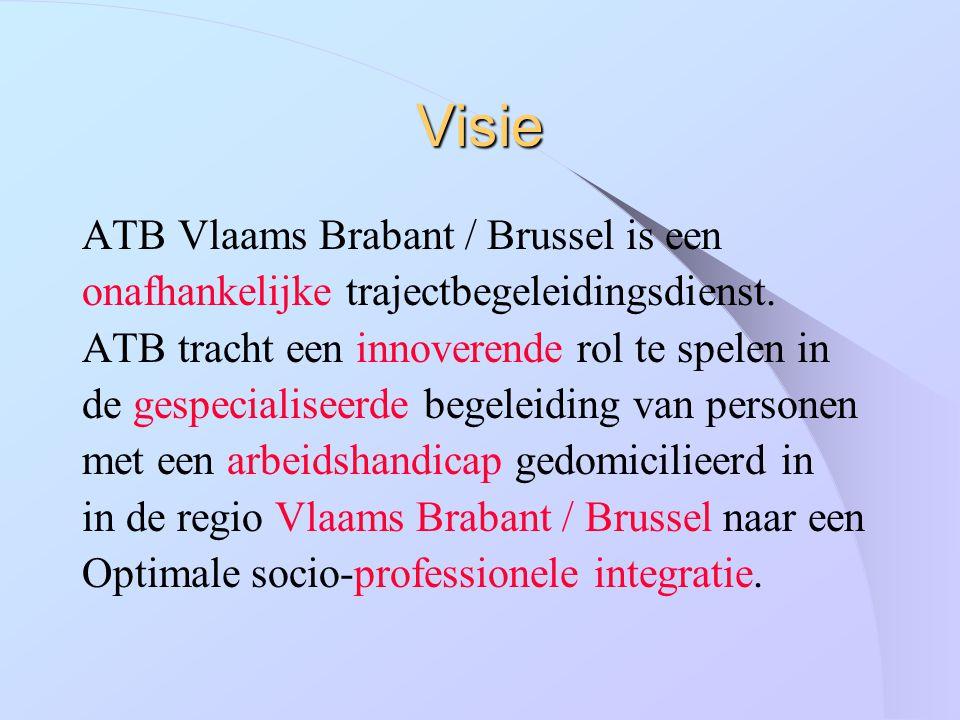Visie ATB Vlaams Brabant / Brussel is een