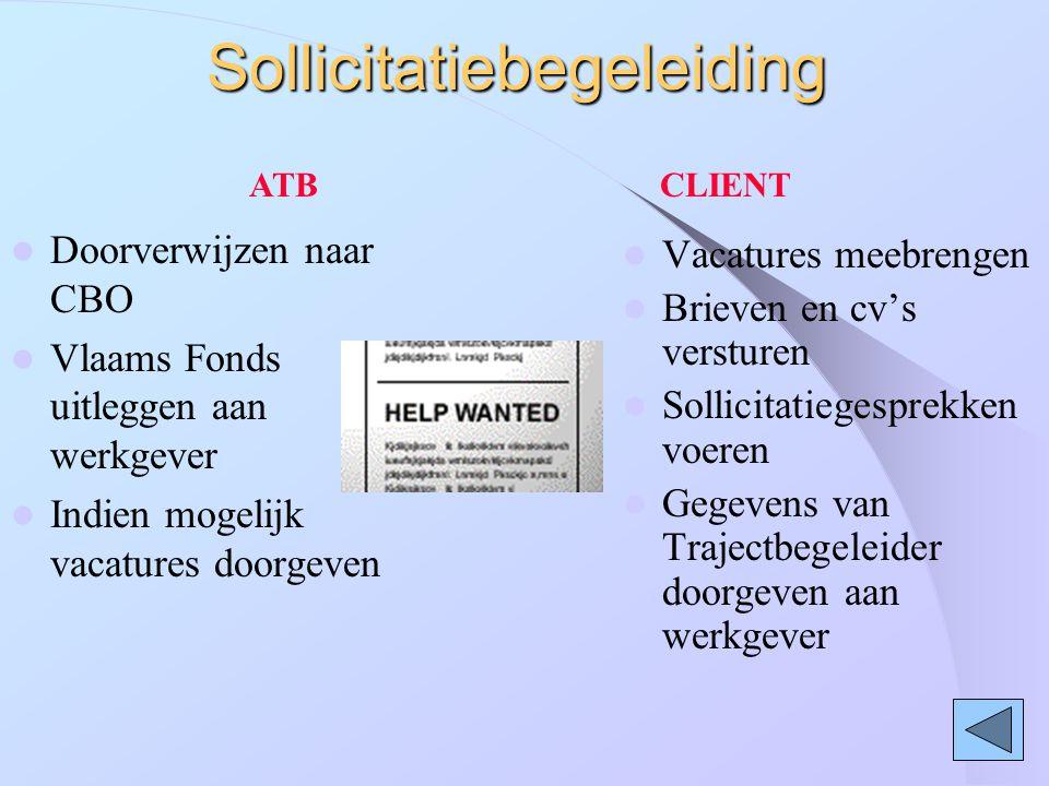 Sollicitatiebegeleiding