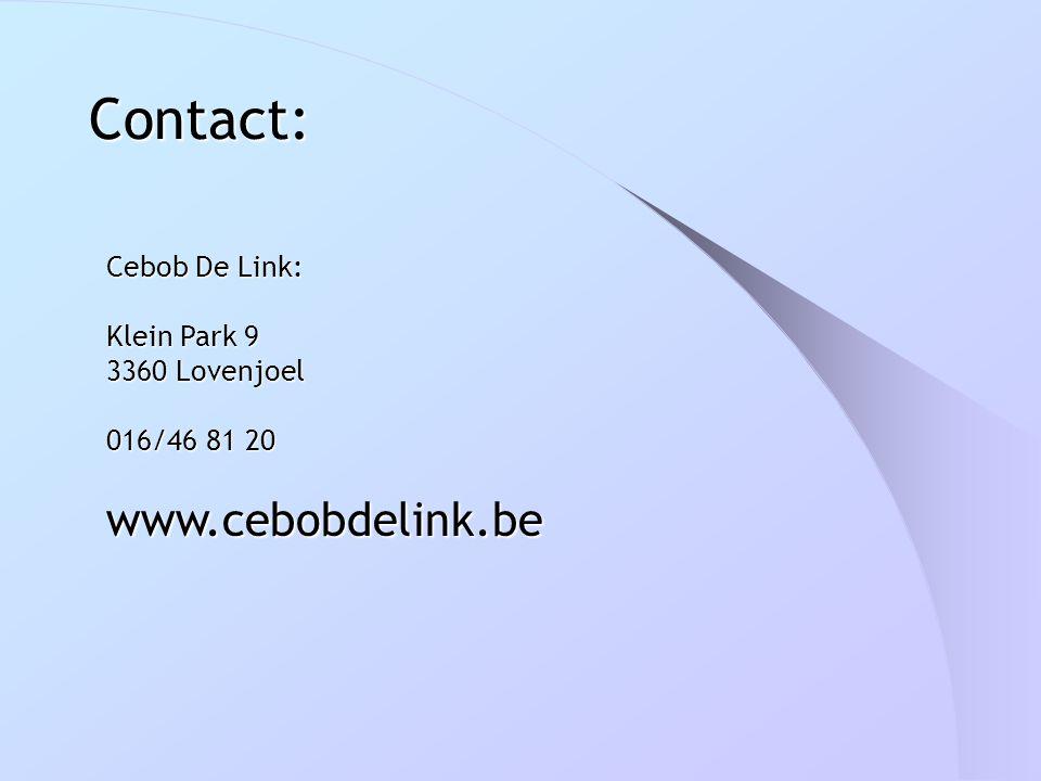 Contact: Cebob De Link: