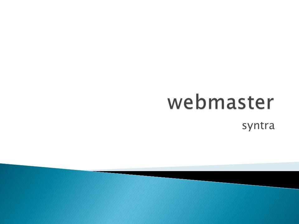 webmaster syntra