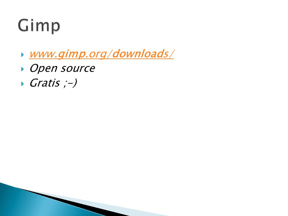 Gimp www.gimp.org/downloads/ Open source Gratis ;-)