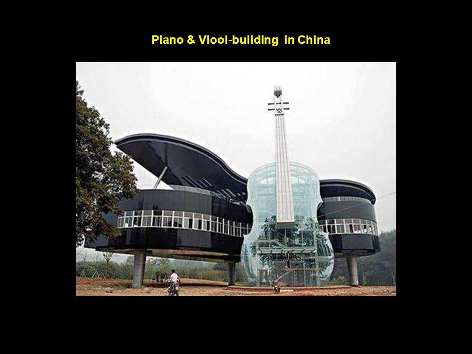 Piano & Viool-building in China