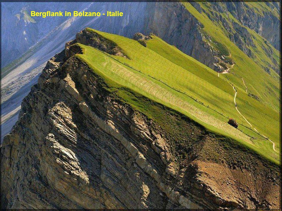 Bergflank in Bolzano - Italie
