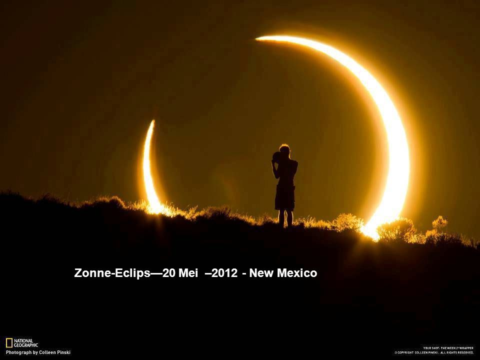 Zonne-Eclips—20 Mei –2012 - New Mexico