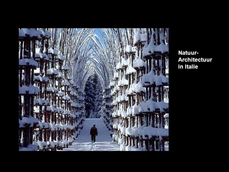 Natuur- Architectuur in Italie