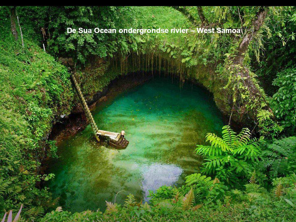 De Sua Ocean ondergrondse rivier – West Samoa