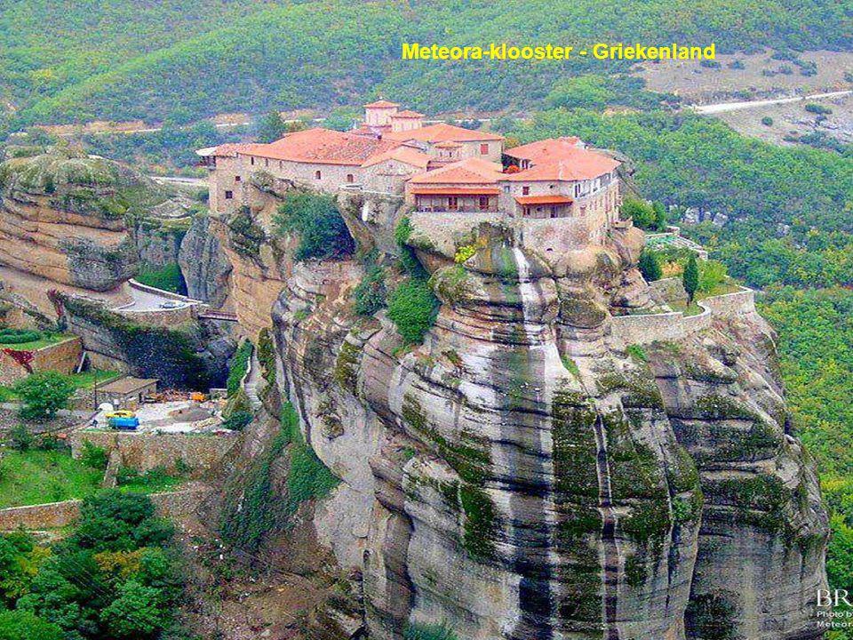 Meteora-klooster - Griekenland