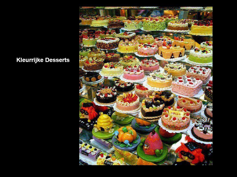 Kleurrijke Desserts