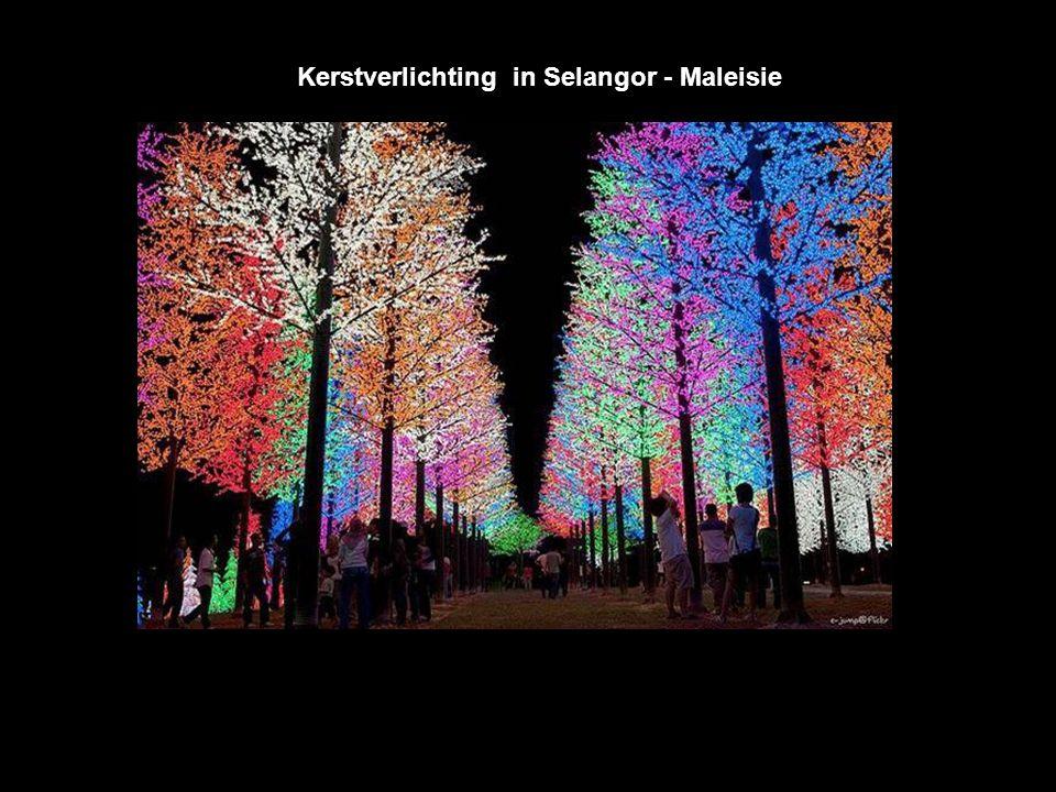 Kerstverlichting in Selangor - Maleisie