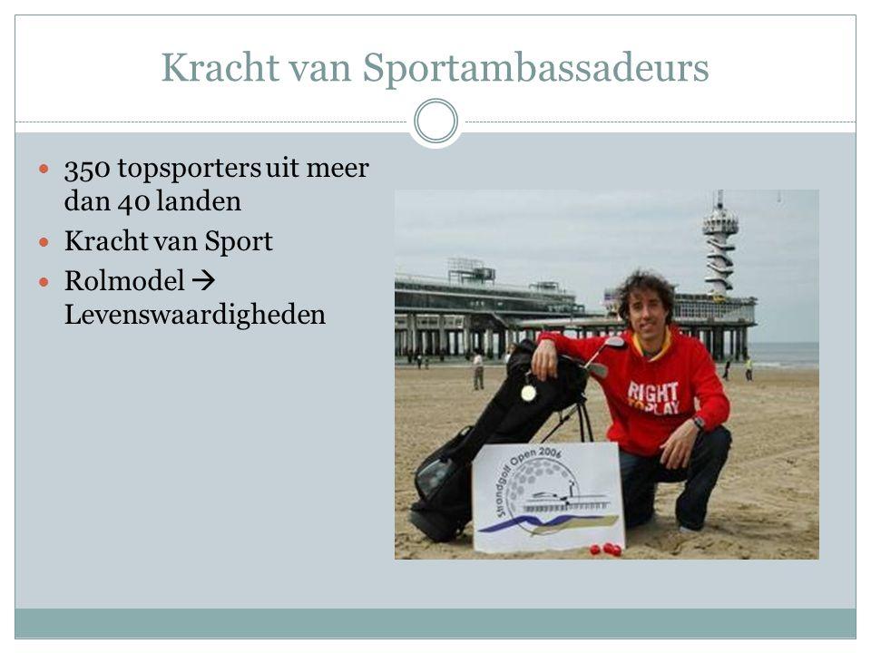 Kracht van Sportambassadeurs