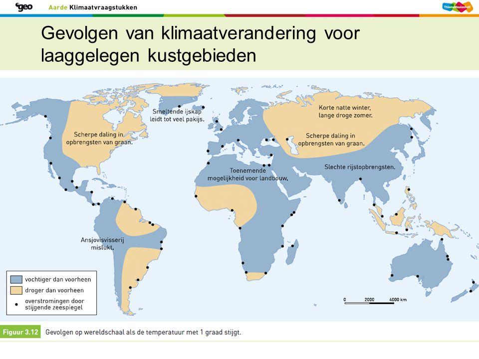 Gevolgen van klimaatverandering voor laaggelegen kustgebieden