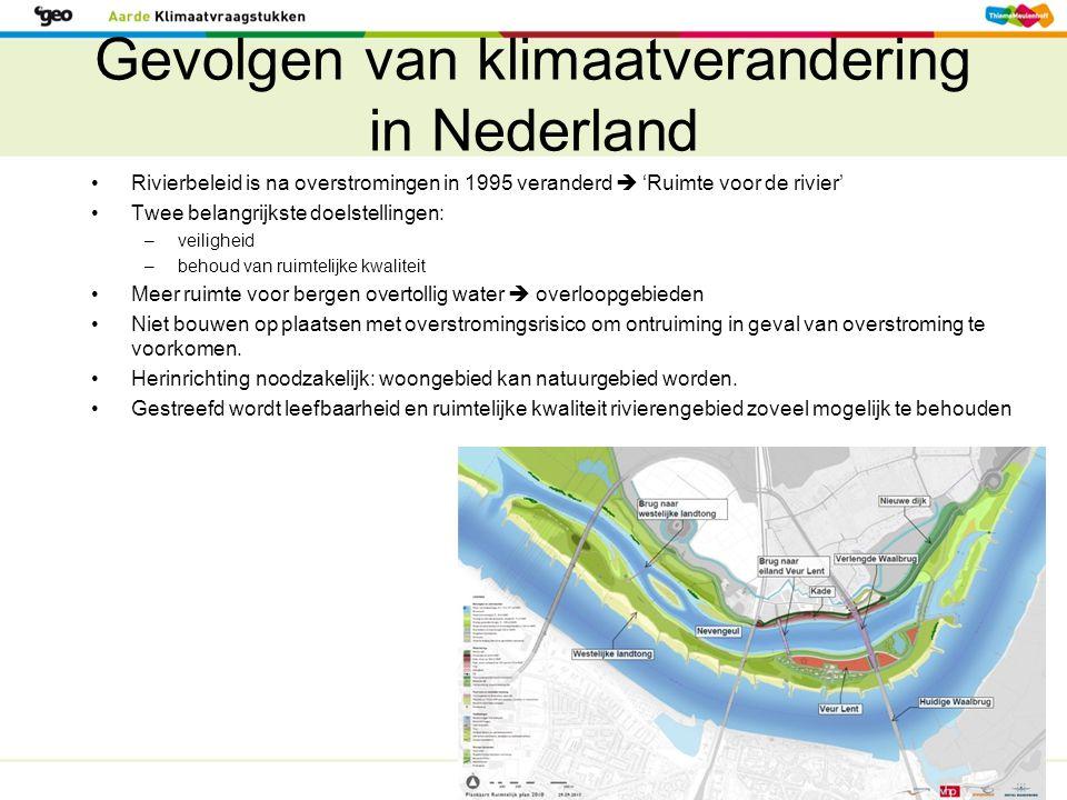 Gevolgen van klimaatverandering in Nederland