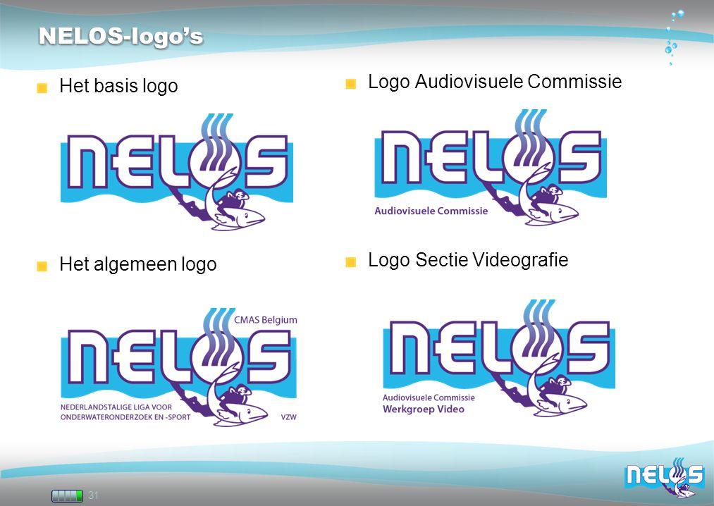 NELOS-logo's Logo Audiovisuele Commissie Het basis logo