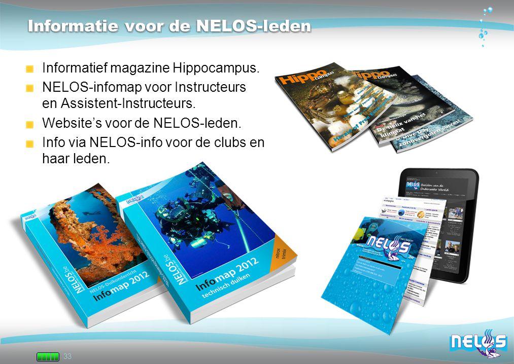 Informatie voor de NELOS-leden