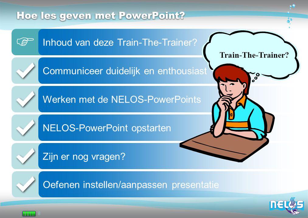 Hoe les geven met PowerPoint
