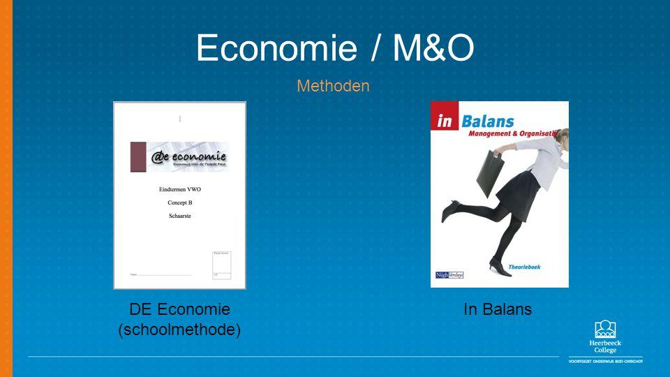 Economie / M&O Methoden DE Economie (schoolmethode) In Balans