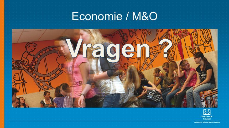 Economie / M&O Vragen
