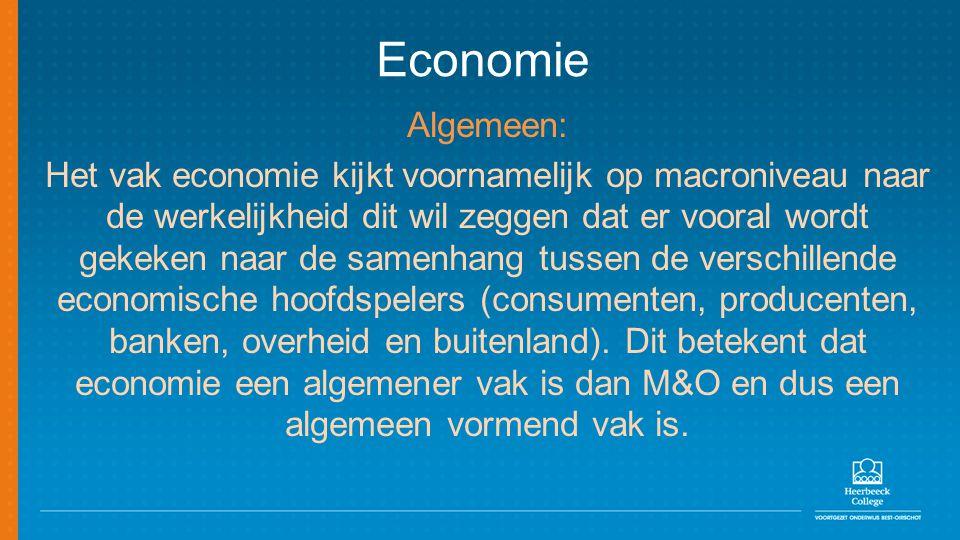 Economie Algemeen: