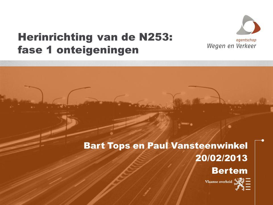 Herinrichting van de N253: fase 1 onteigeningen