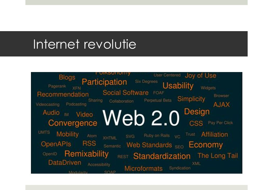 Internet revolutie