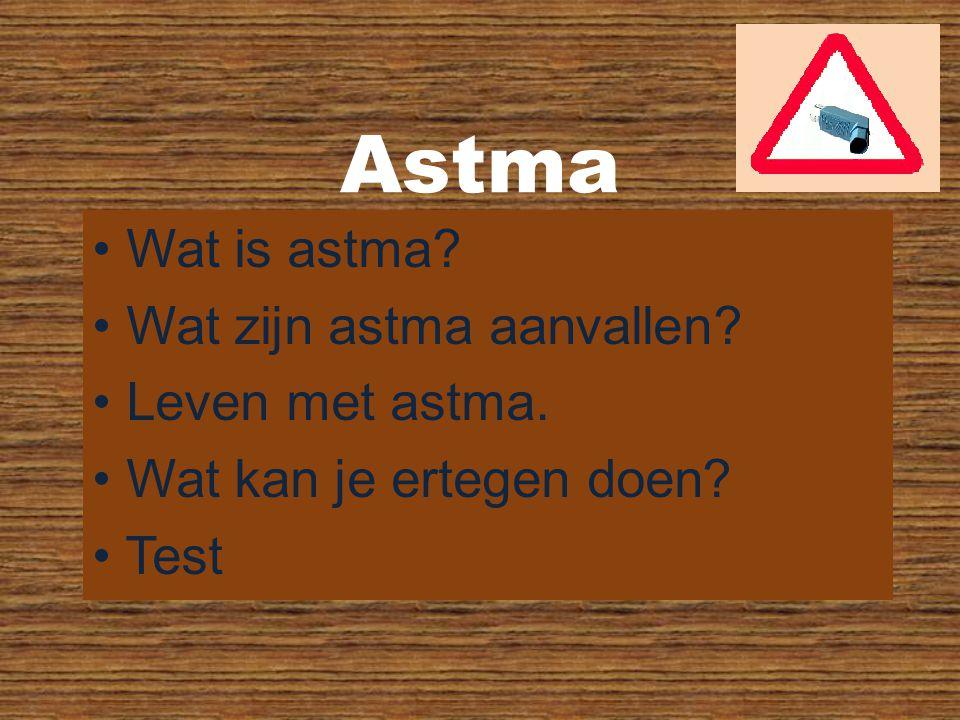 Astma Wat is astma Wat zijn astma aanvallen Leven met astma.