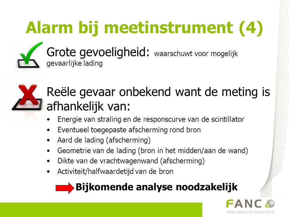 Alarm bij meetinstrument (4)