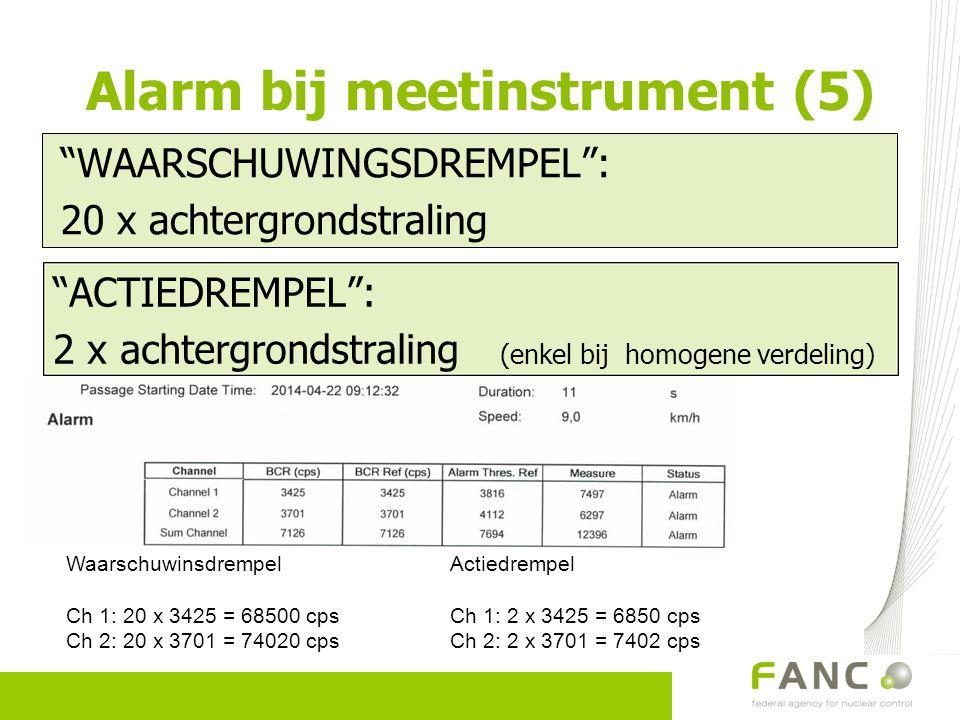 Alarm bij meetinstrument (5)