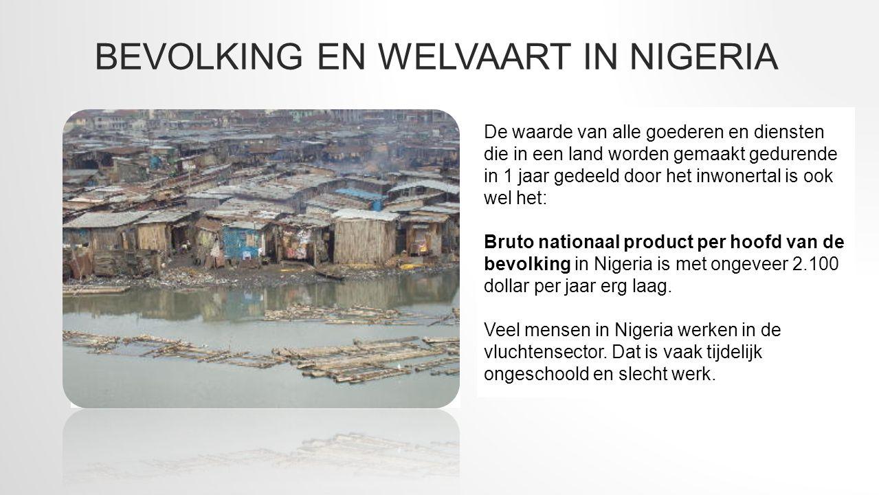 Bevolking en welvaart in Nigeria