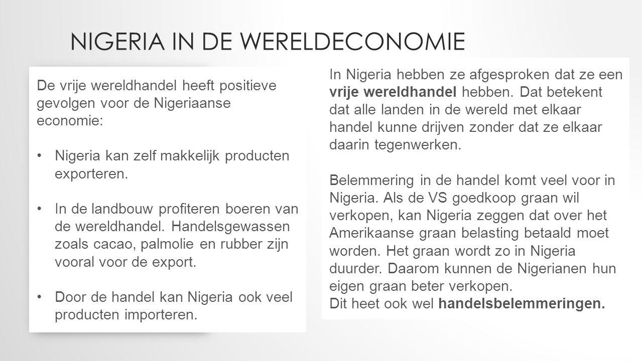 Nigeria in de wereldeconomie