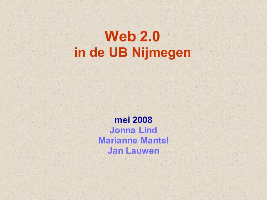 mei 2008 Jonna Lind Marianne Mantel Jan Lauwen