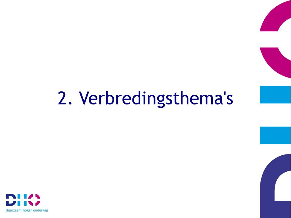 2. Verbredingsthema s