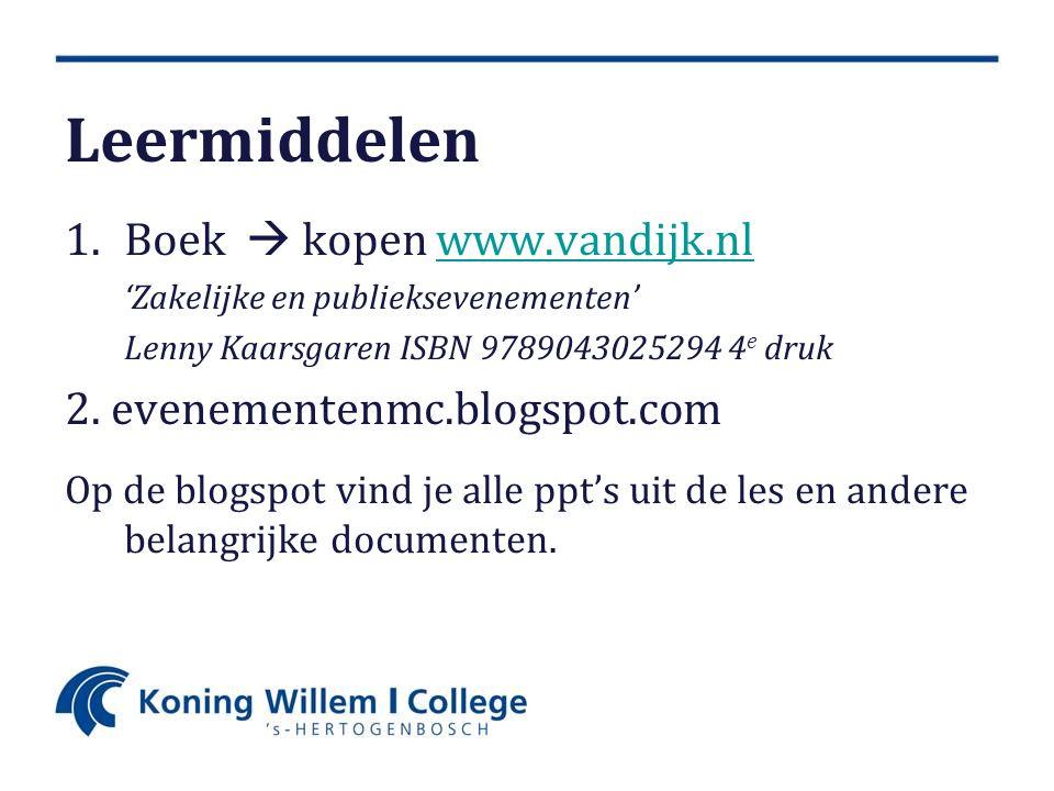 Leermiddelen Boek  kopen www.vandijk.nl 2. evenementenmc.blogspot.com