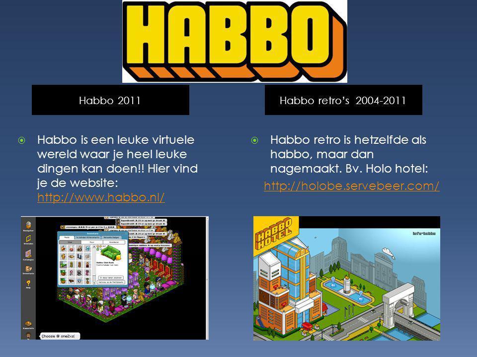 Habbo 2011 Habbo retro's 2004-2011.