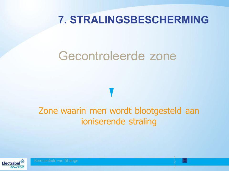 7. STRALINGSBESCHERMING