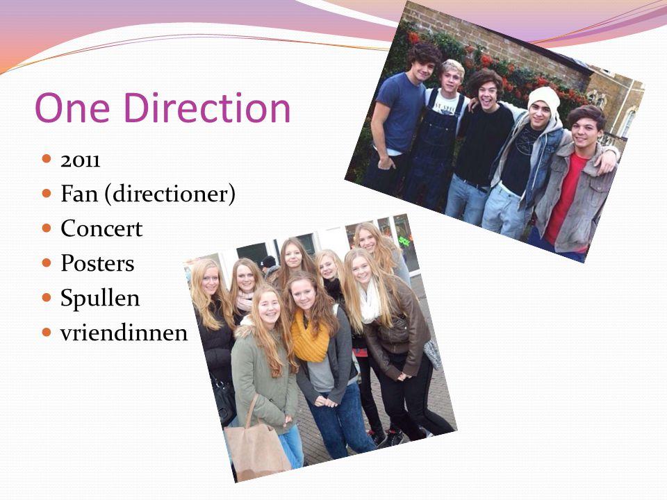 One Direction 2011 Fan (directioner) Concert Posters Spullen