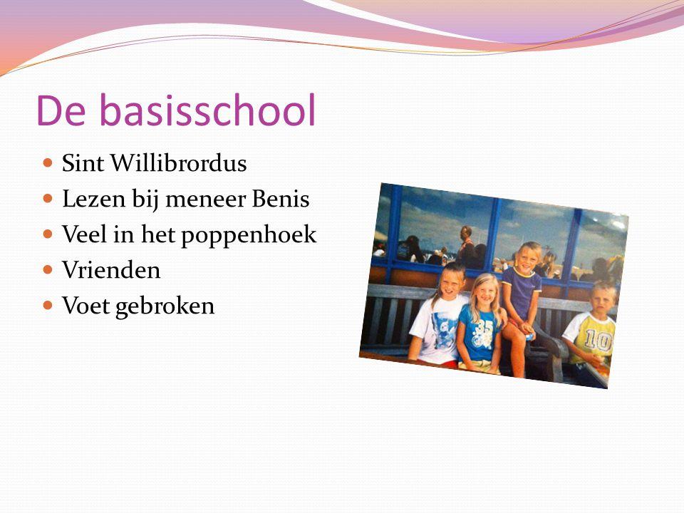De basisschool Sint Willibrordus Lezen bij meneer Benis