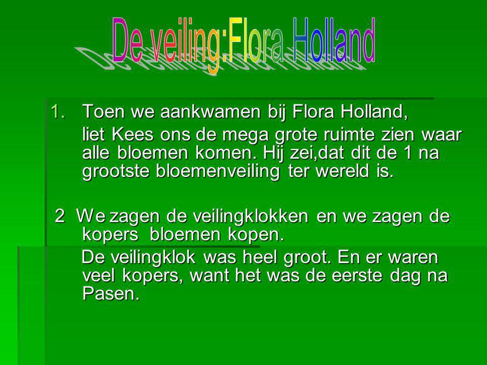 De veiling:Flora Holland