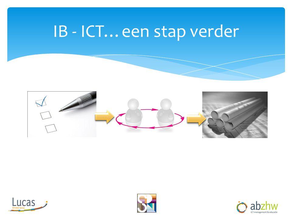 IB - ICT…een stap verder
