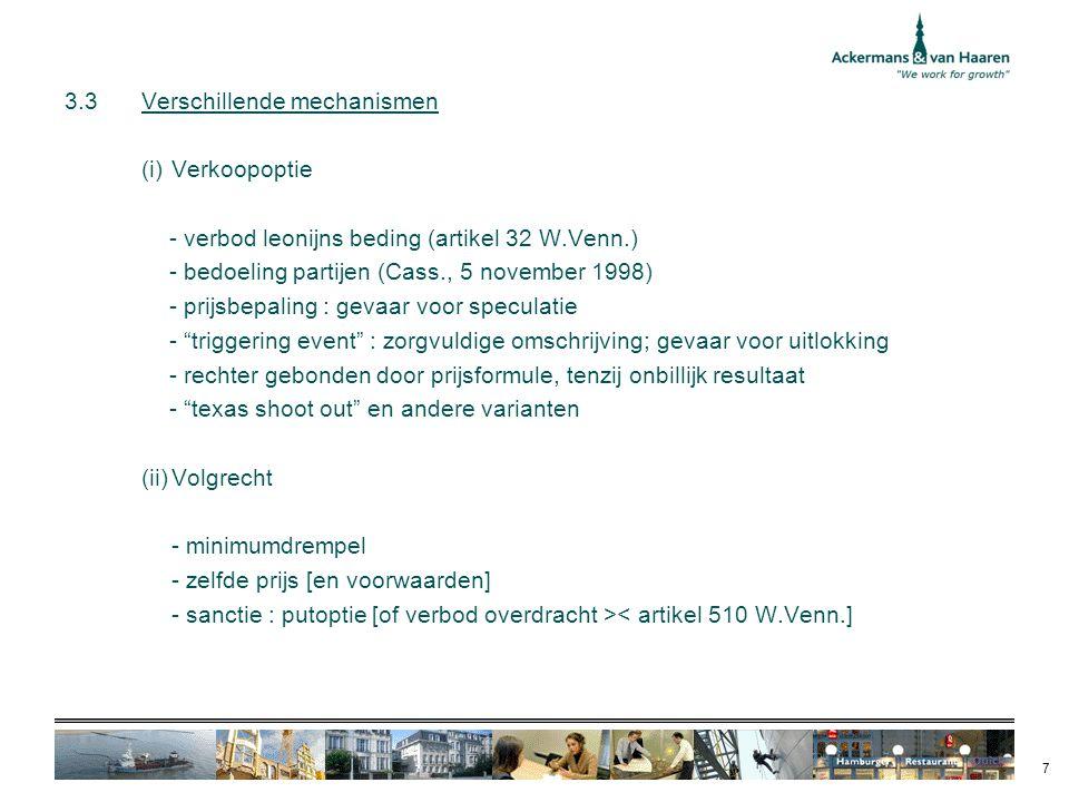 3.3 Verschillende mechanismen