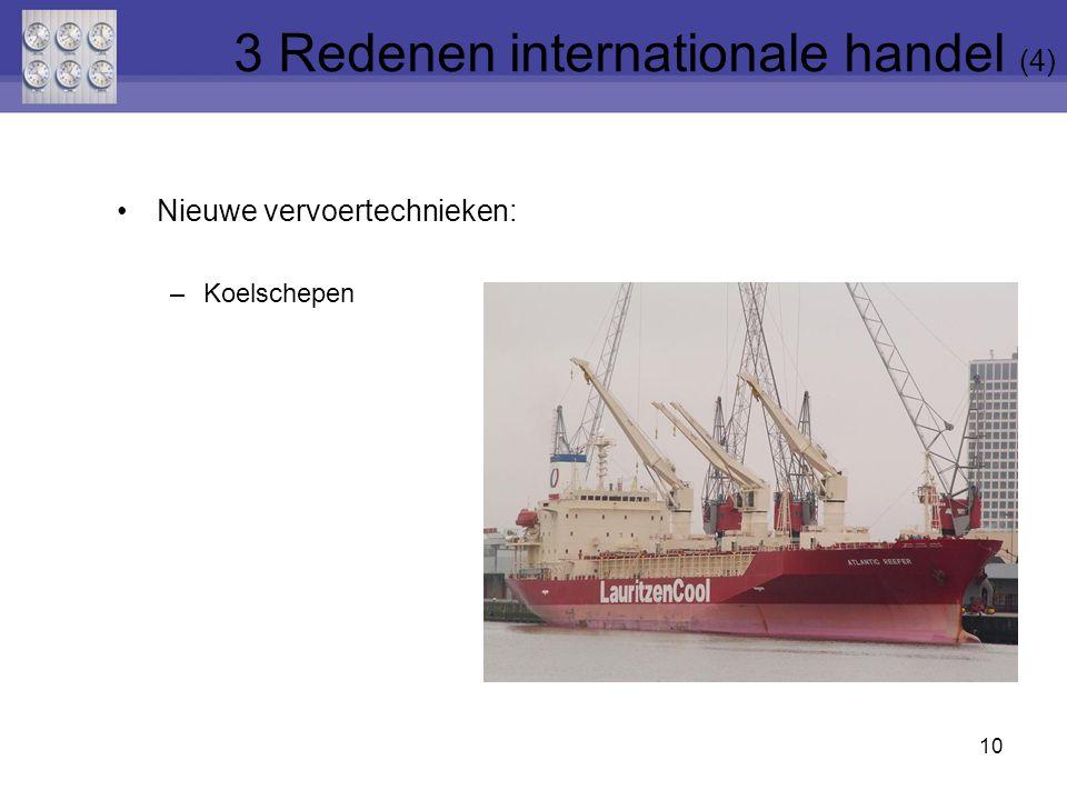 3 Redenen internationale handel (4)