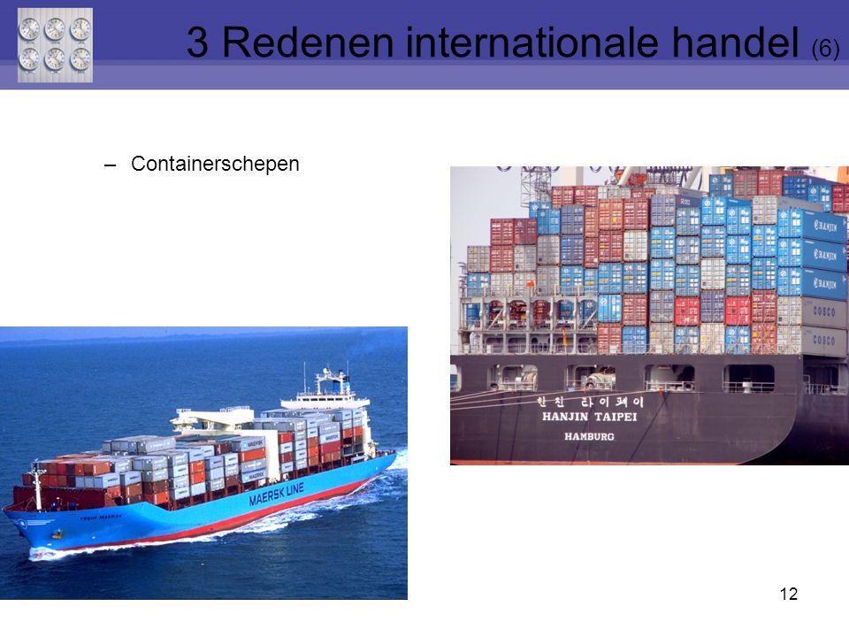 3 Redenen internationale handel (6)