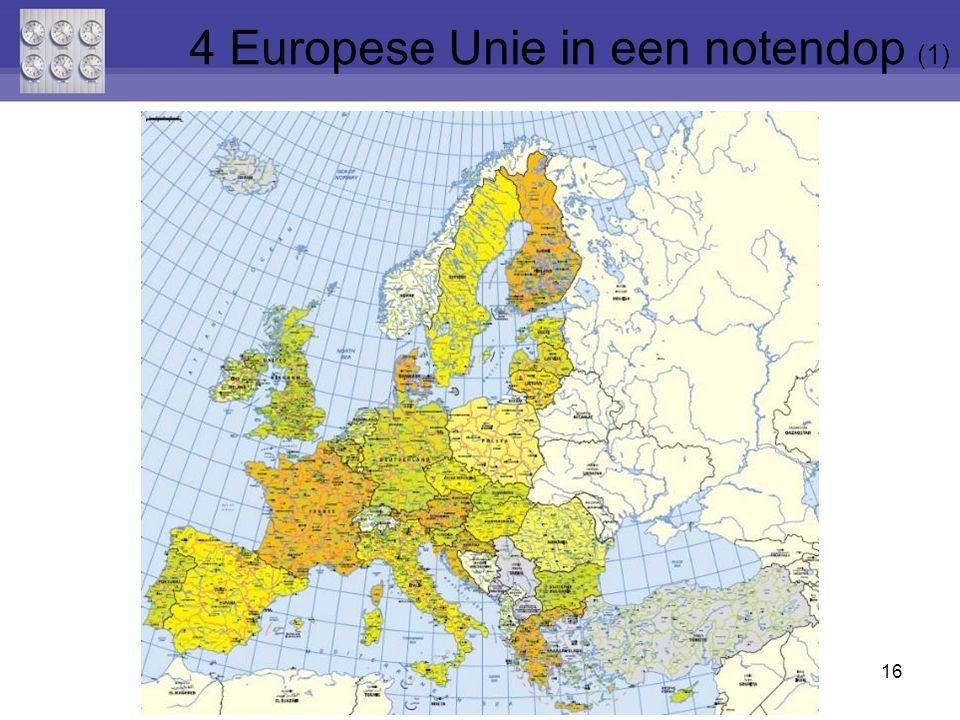 4 Europese Unie in een notendop (1)