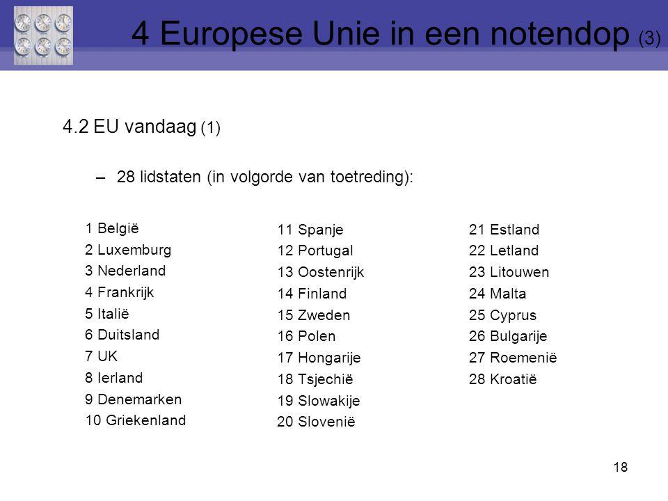 4 Europese Unie in een notendop (3)