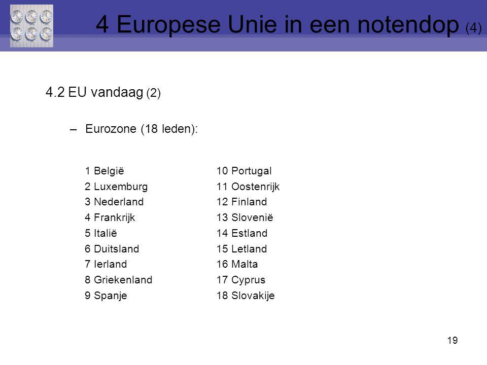 4 Europese Unie in een notendop (4)